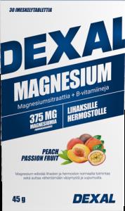 Dexal Magnesium + B-vitamiini imeskelypastilli