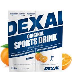 Dexal original sports drink urheilujuomajauhe