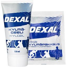 Dexal Kylmägeeli ja pikakylmäpakkaus