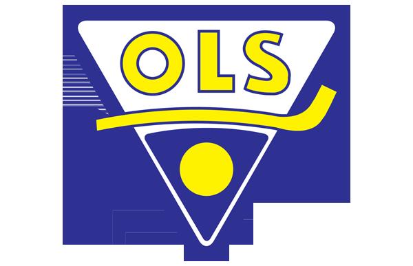 OLS Oulun luistinseura logo