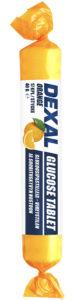 Dexal Glukoosipastilli appelsiini
