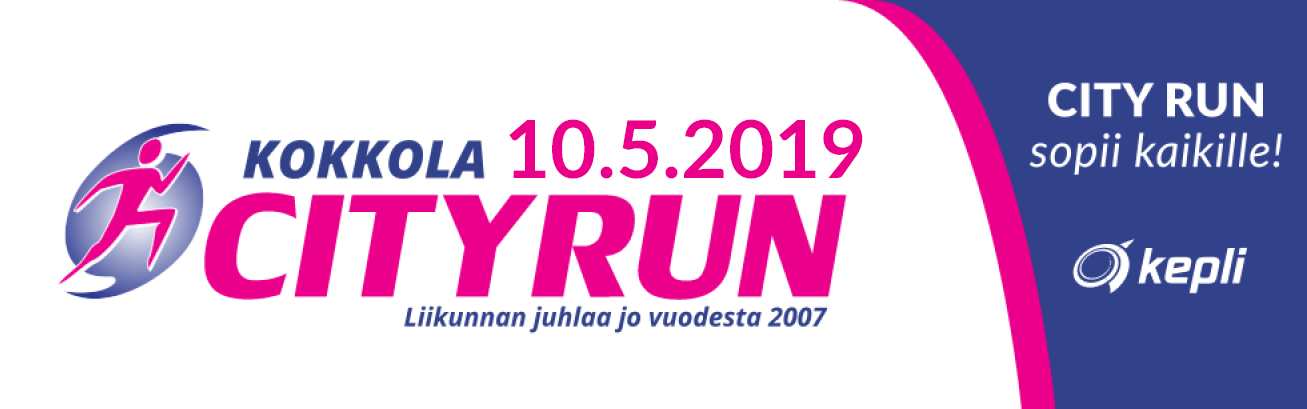 Kokkola City Run logo_2019
