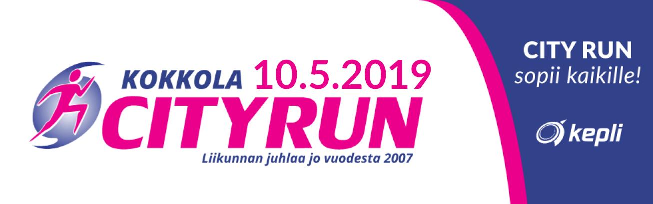 Kokkola City Run logo_2019